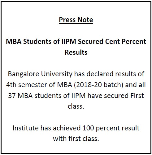 MBA results